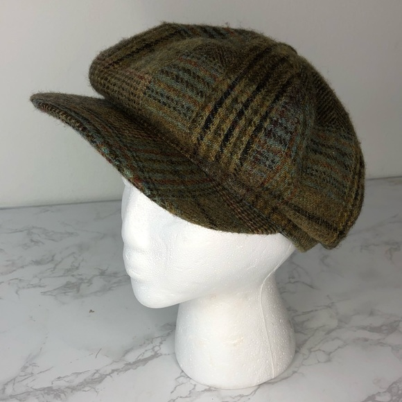 47b26d0c2ed Hills Hats Other - Hills Hats Vintage Newsboy English Tweed Cap L